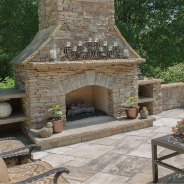 Outdoor Fireplace - Mantles and Hearths-01